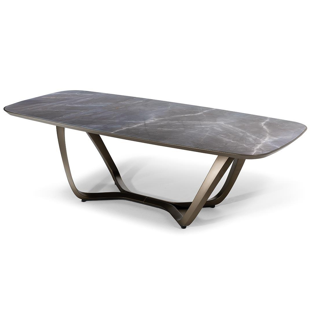 luxury furniture stores calgary dining tables segno bevel marble glass dining table by pininfarina reflex angelo luxuries of europe